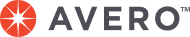 Avero logo with trademark